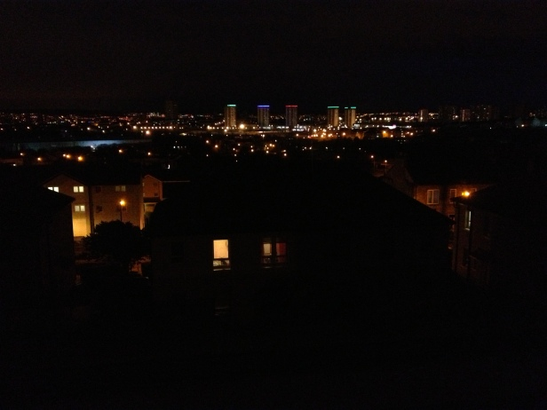 Springburn Evening Lights