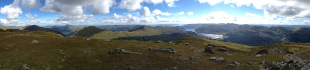 Taken from Ben Donich. This was taken looking out toward the Irish Sea, with Ben Lomond to the Left.