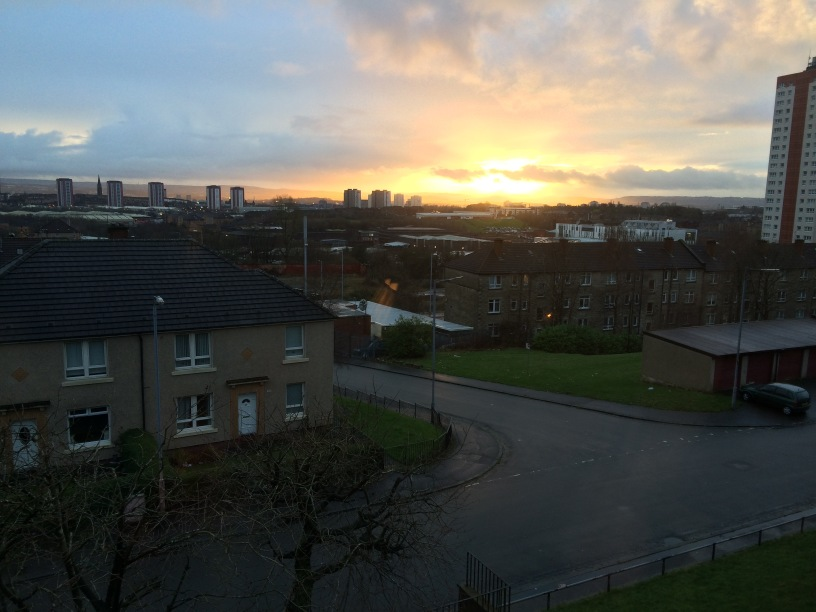 Glasgow Sunset